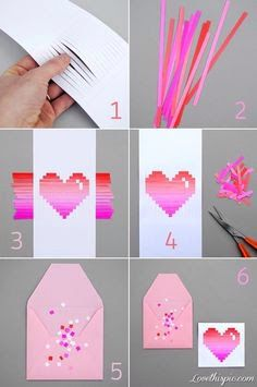 Threading straws through paper design