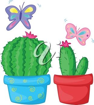 butterfly cactus | clip art | Pinterest