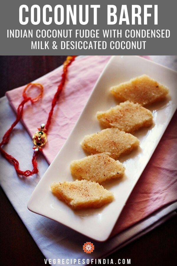 Coconut Barfi In 2020 Indian Desserts Coconut Barfi Recipe Burfi Recipe