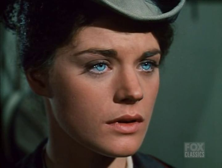 Meg Foster. She was so beautiful and has the most beautiful crystal clear eyes ever