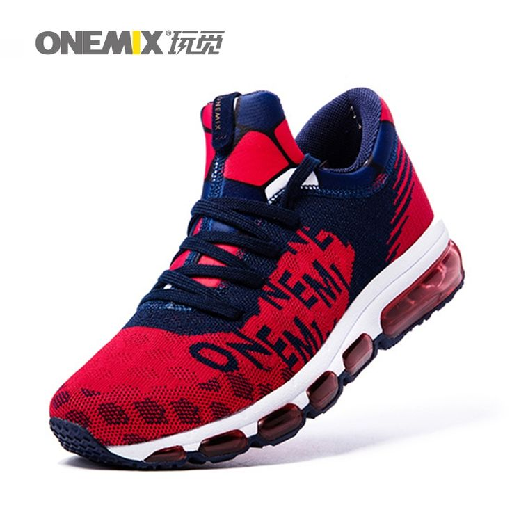 59.45$  Buy here - http://alim89.worldwells.pw/go.php?t=32787195138 - ONEMIX Mens running Shoes Outdoor Sport Sneakers Damping Male Athletic Shoes zapatos de hombre Men jogging shoes size 35-46 59.45$