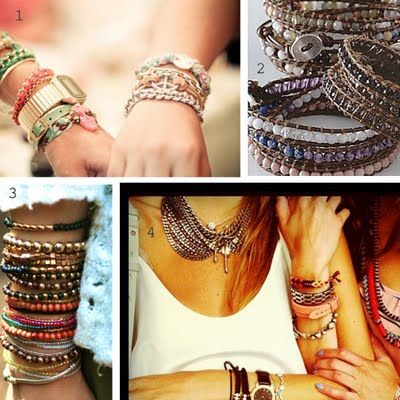 Never made a wrap bracelet but this tutorial makes it look easy!