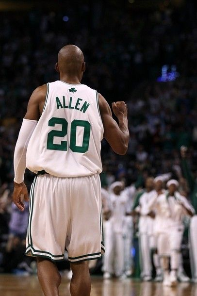 Love Ray Allen... Maybe the only thing I'm looking forward to now that the NBA is back.