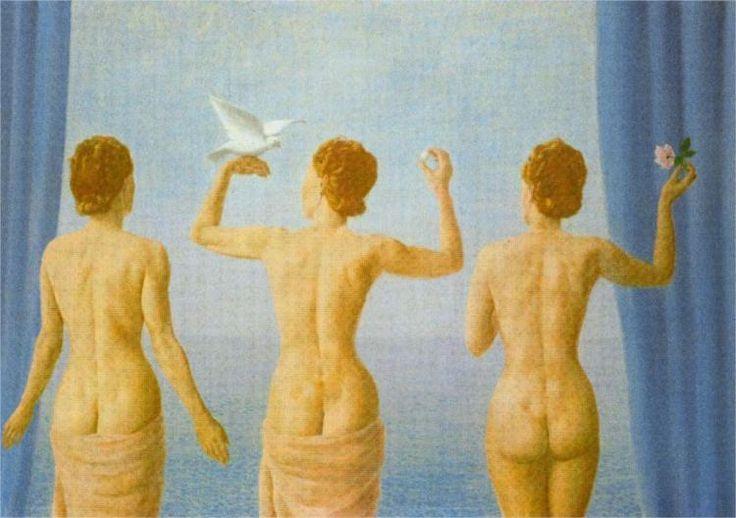 Renè Magritte / Arte, pintura, surrealismo, femenino, mujer