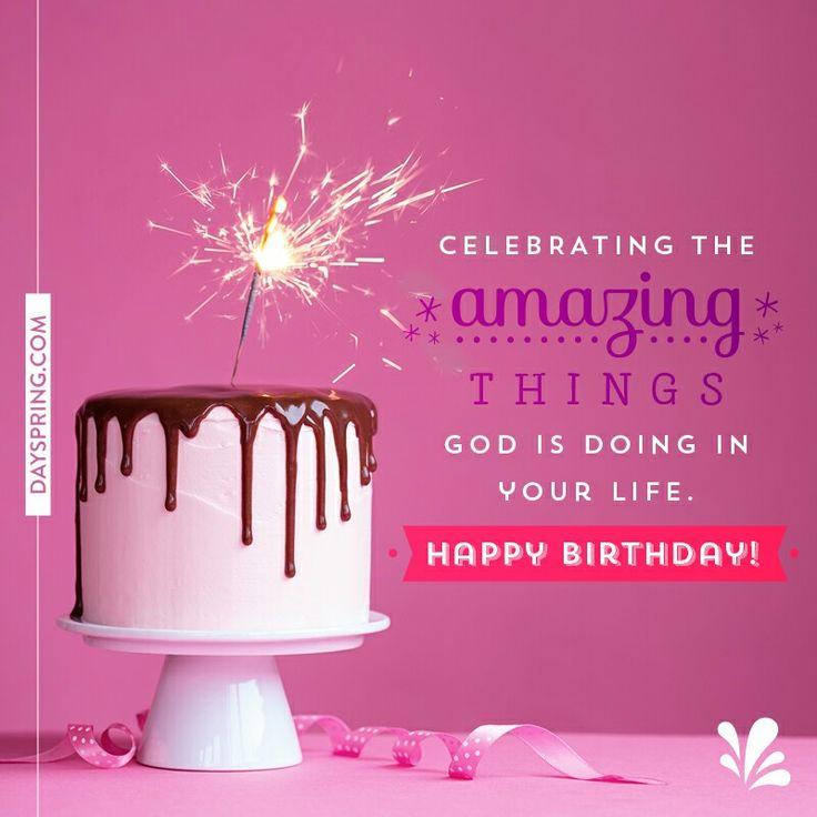 Best 25+ Christian Birthday Wishes Ideas On Pinterest