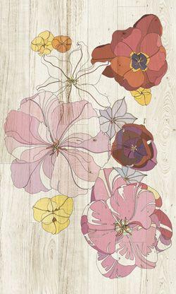 www.forgiarini.net parquet Xilo1934 XILO1934 designed parquets 'Tulipae Gemini 6'. Design Ronald Van Der Hilst
