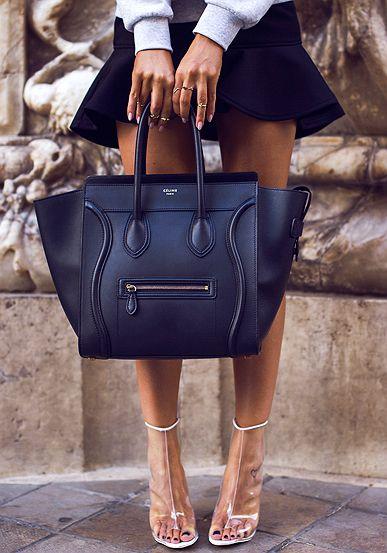 Fashion Cognoscenti Inspiration: Neutral Spring Style | Celine ...