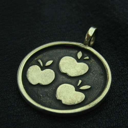 Bronze Applejack pendant. MLP. My Little Pony. Friendship is Magic. FiM. Brony. #Pendant