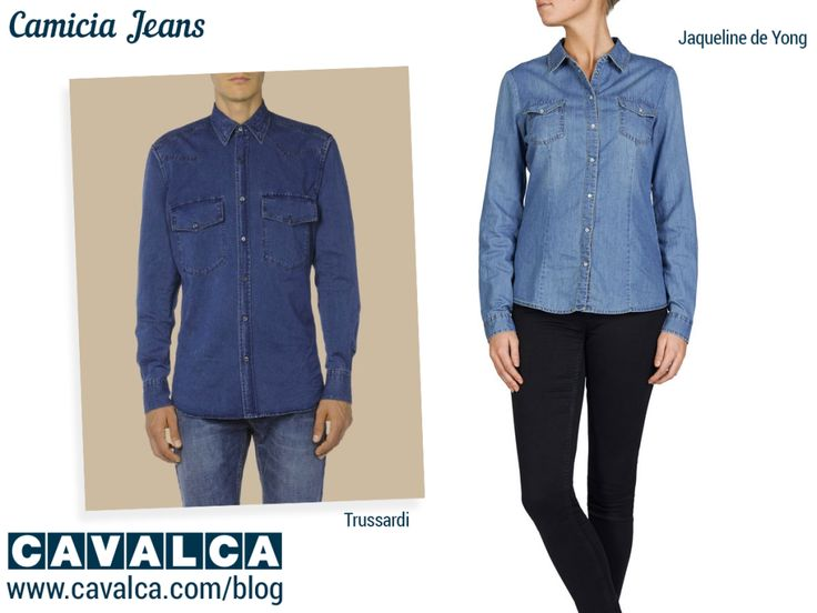 #camicia #jeans #jaquelinedeyong #outfit #cavalca #moda #fashion
