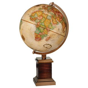 Traditional World Globes by 1st Stop Travel Store