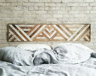 Wood Wall Art Reclaimed Wood Art Queen by moderntextures on Etsy