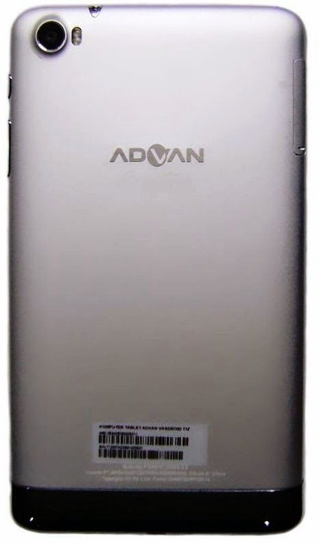 Tablet Advan Signature T1Z RAM 2GB Processor Octa Core 1,7 OS KitKat