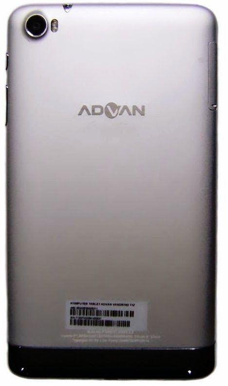 Tablet Advan Signature T1Z RAM 2GB Processor Octa Core 1,7 OS KitKat