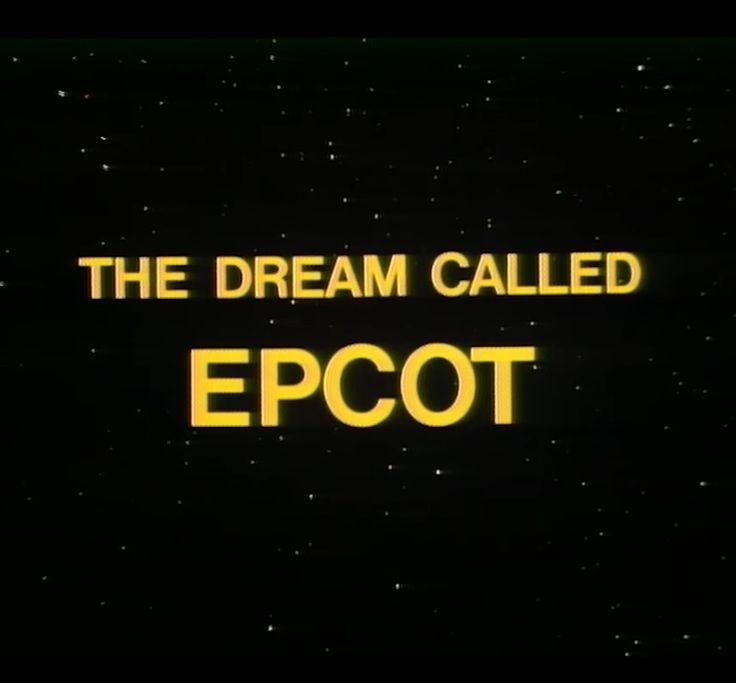 Disney Shares Rare 'The Dream Called EPCOT' Film
