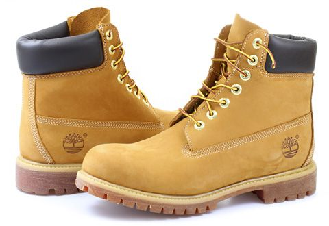 Timberland Vysoké Boty - 6 In Premium Boot - 10061-WHE