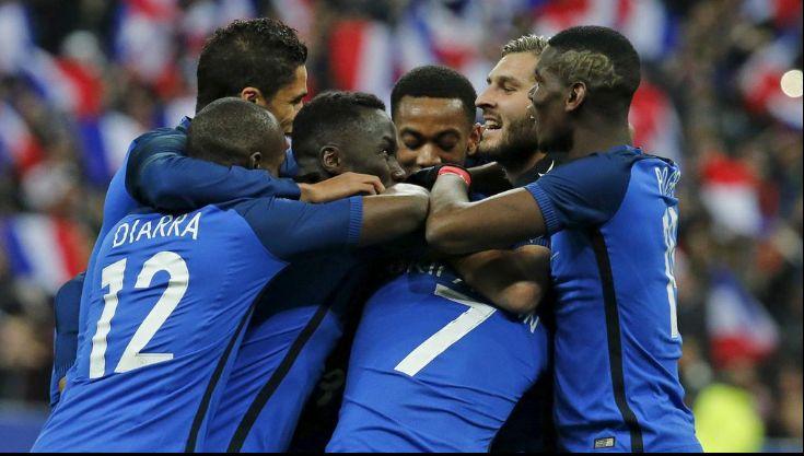 La liste des 23 de l'équipe de France