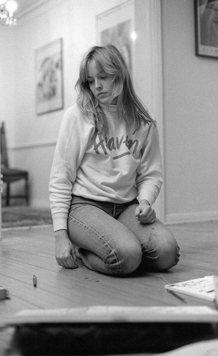 Sharon Stone (wearing a Heaven t-shirt)