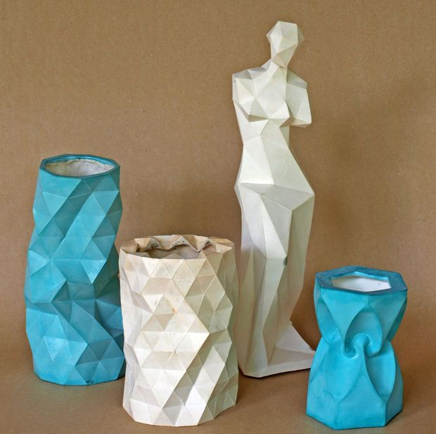 Casting With Molds Made With Papercraft Models Pictures