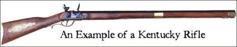 images of kentucky rifle | denix replica kentucky rifle | The Non Smoking Gun