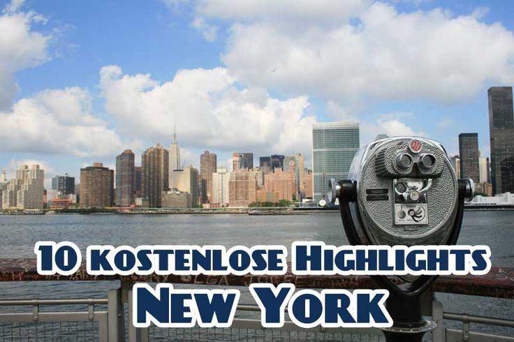 Spar Dir Dein Geld! Ich verrate Dir, welche Sehenswürdigkeiten in New York komplett kostenlos sind!