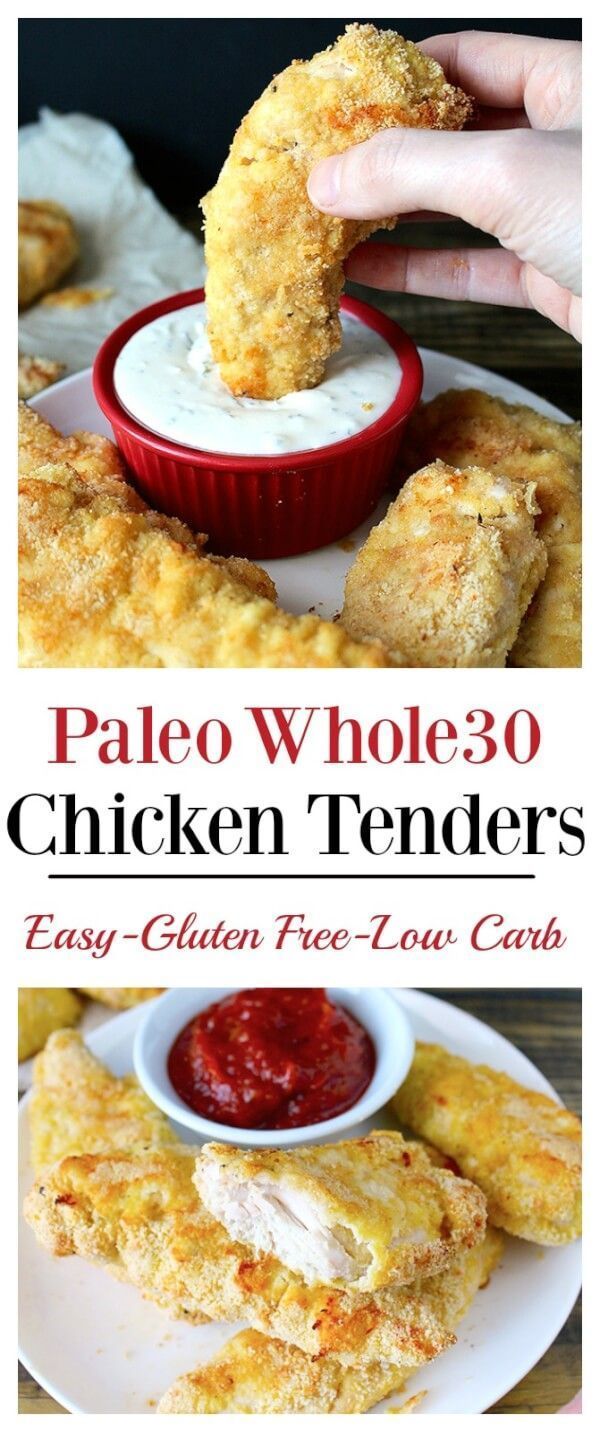 Paleo Chicken Tenders Recipe