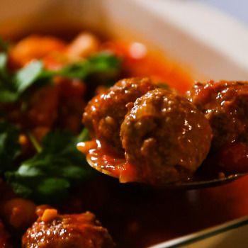 Tasty Spanish Meatballs