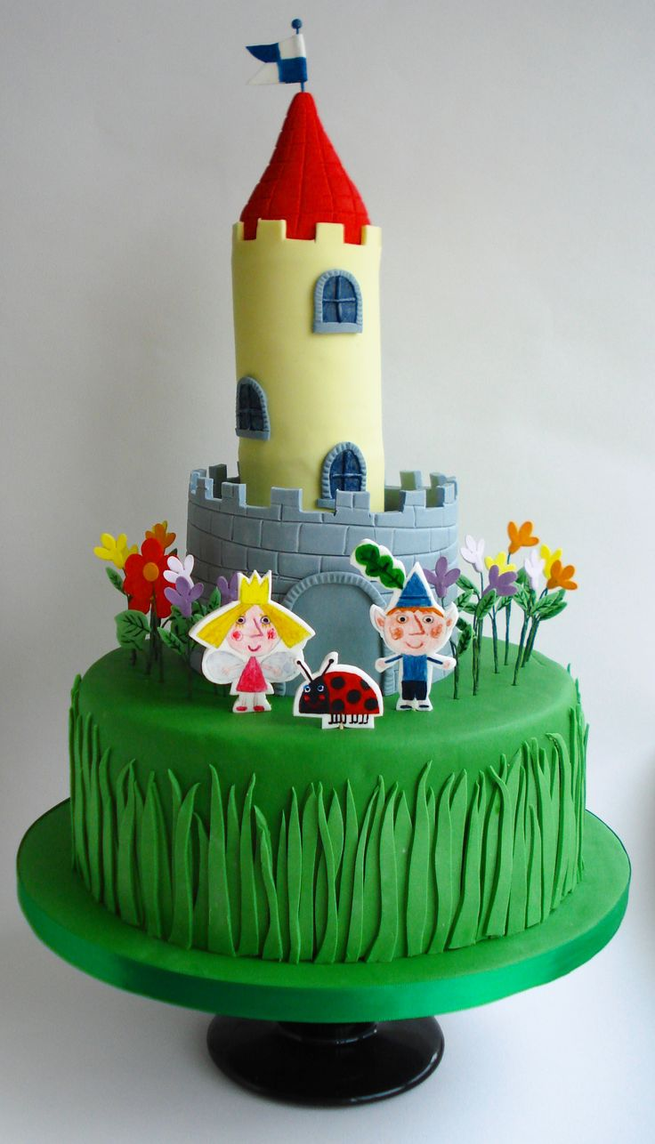 ben and holly cake - Google Search