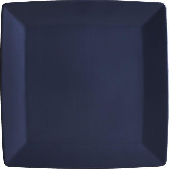 mood blue dinner plate  | CB2