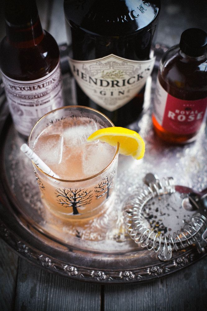 Cardamom Rose Gin & Tonic | The Baking Bird