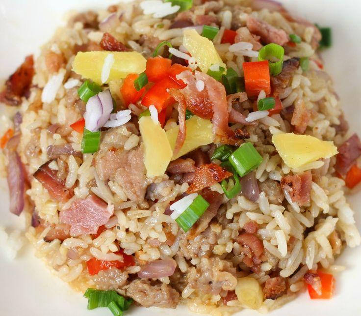 Hawaiian Breakfast Fried Rice