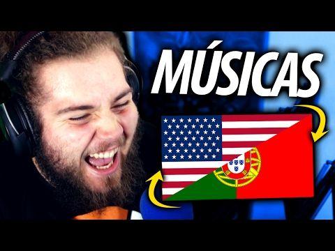 MÚSICAS QUE PARECEM PORTUGUESAS - YouTube