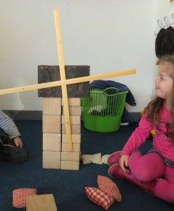 Molens bouwen in de bouwhoek, kleuteridee.nl , thema bakker