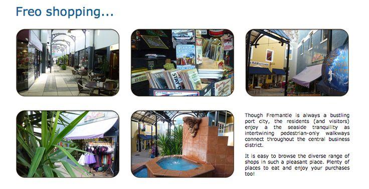 Fremantle: Shopping in Central Fremantle