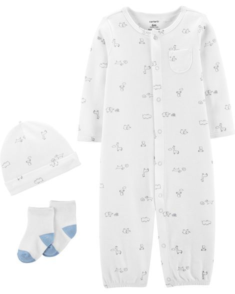9df62e41c7f7 3-Piece Babysoft Take-Me-Home Set