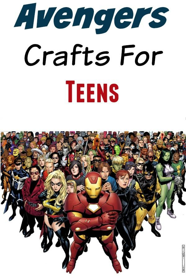 Looking for fun ideas to keep you and your friends busy this summer? If you're a total fangirl, you'll LOVE these Avengers crafts for teens! Check them out!