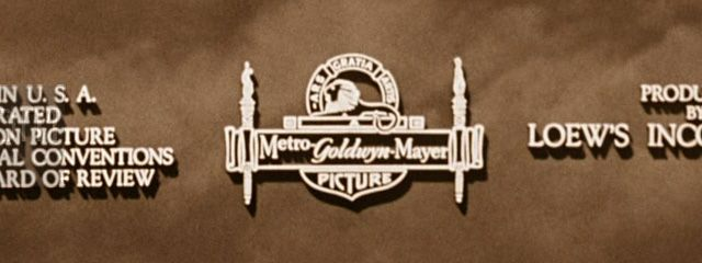MGM - Metro Goldwyn Mayer Logo, in The Wizard of Oz.