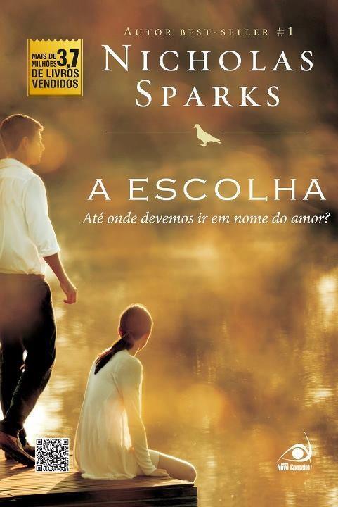 A Escolha (Nicholas Sparks) – Capa Revelada