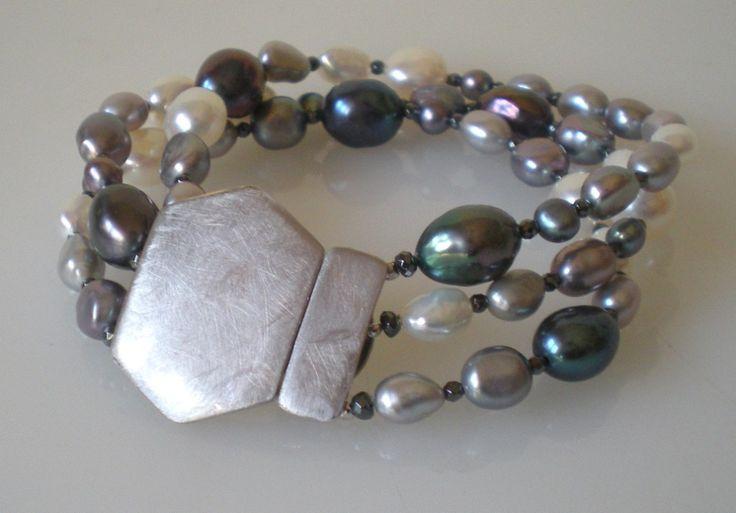 pearl bracelet - silver 925/000 www.cinziarusso.it
