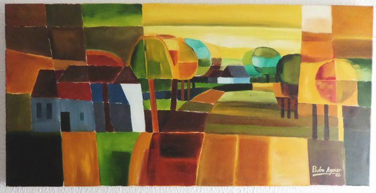 Cores de Outono- Técnica mista   -2002
