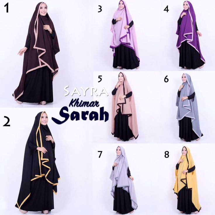 Khimar Sarah by Sayra. ~Large armhole on each side of the khimar. ~Wrap style hijab that must be secured with pins; this is NOT an instant hijab. Underscarf & dress are NOT included .   eBay!