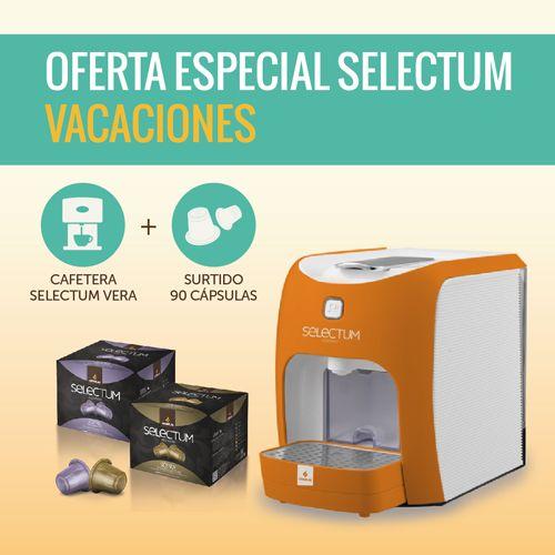 Oferta Especial Cafetera Selectum Vacaciones Verano 2015