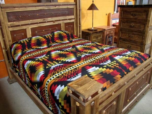 Black And Yellow Comforter Queen: Southwestern Bedding