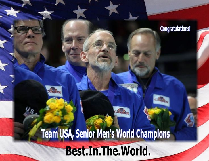 Steve Lundeen sings his heart out upon winning the World Senior Men's Curling title in Russia this year. Steve is awesome and curls out of the Granite Club in Seattle.