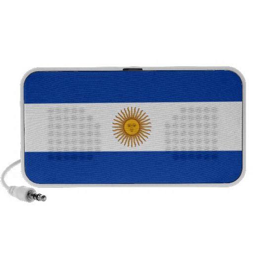 Old Argentinian flag  speakers