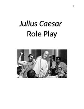 "Includes role play scripts for every act of Julius Caesar, by William Shakespeare. I have shortened each scene a little when needed and have ""translated"" the original text to modern English. I have added character and prop lists and stage directions. I have NOT included every scene in the play, but only the ones that I thought would be the most fun to act out or"
