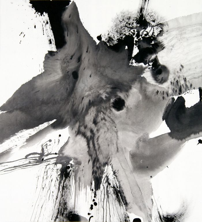 """Saatchi Art Artist: Hua Liu; Ink Painting """"Abstract Ink Painting_Untitled No.10"""""""