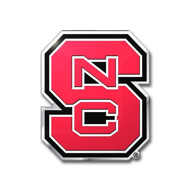 North Carolina State Wolfpack Auto Emblem - Color (backorder)