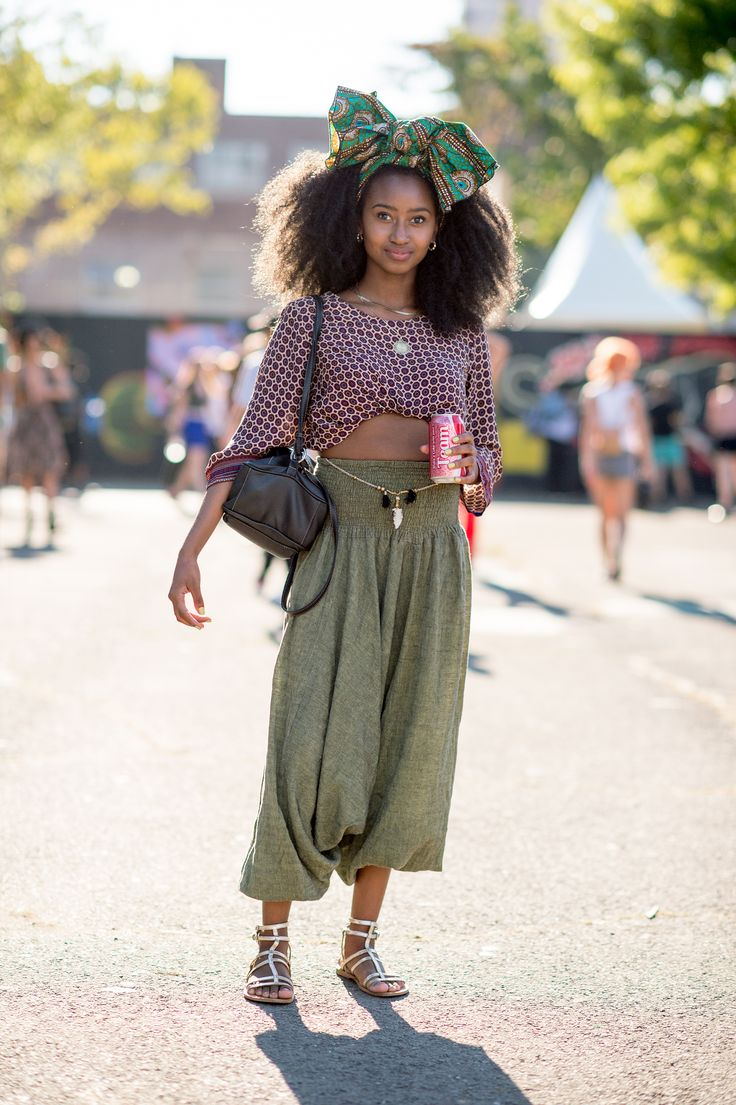 The Best Street Style From Afropunk - ELLE.com