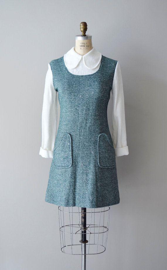 1960s dress / mod 60s dress /