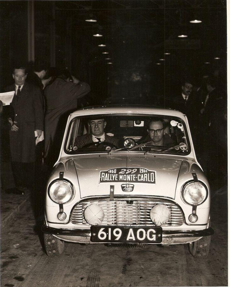 https://flic.kr/p/de3VvU | Austin Mini SE7EN- 1960 Monte Carlo Rally - 01 | Austin Mini SE7EN - 619 AOG - 1960 Monte Carlo Rally. Tommy Wisdom and Jack Hay